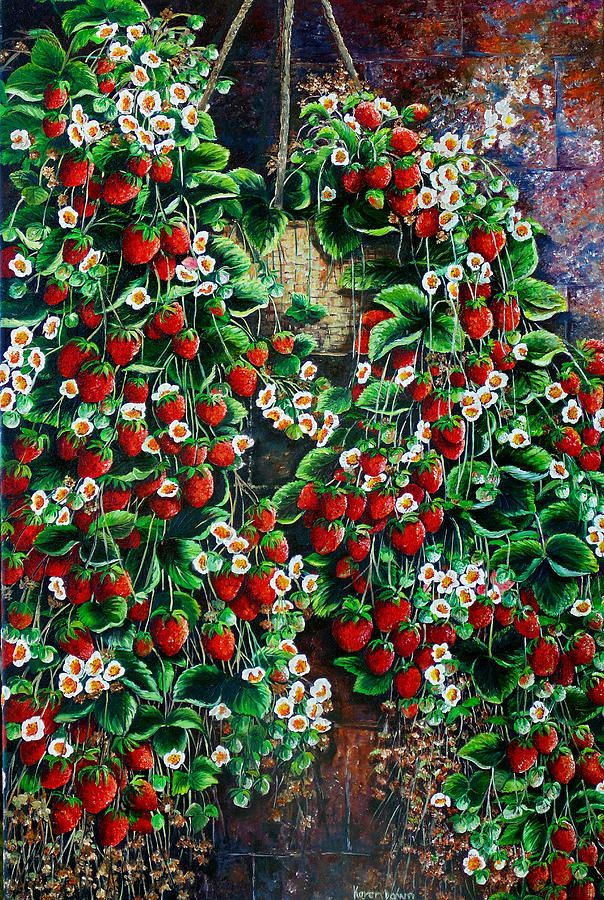 A Berry Sweet Basket By Karin Dawn Kelshall Best
