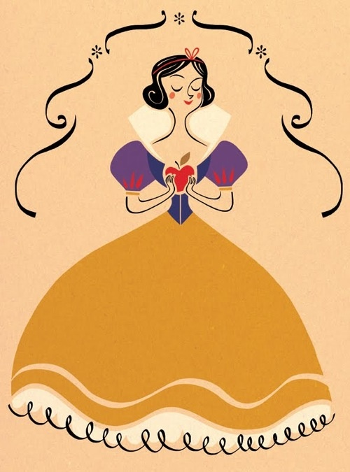 Snow White by Genevieve Godbout Snow White #snow white