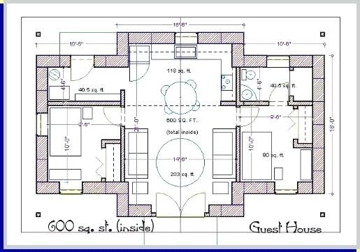600 Sq Ft Plans Modern With Cost To Build 1200 Sq Ft Square Feet Modern Sq Ft Guest Small House Floor Plans House Plans Modern Style House Plans Home plans and build cost