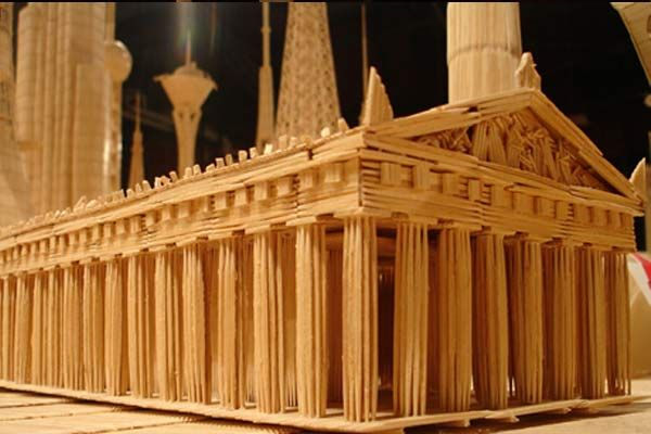 toothpick art   This Toothpick Art Will Blow Your Mind   AntsMagazine.Com