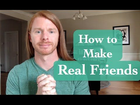 How to Make Real Friends vs. People Pleasing: be the real, authentic you.   I would add that, if you're still not attracting the people you want, examine what it is you're putting out into the world.