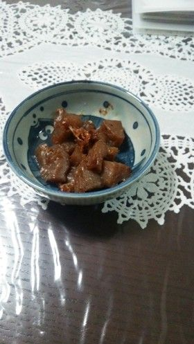 簡単常備菜☆蒟蒻の甘辛煮 by ☆なべすけ☆ [クックパッド] 簡単おいしいみんなのレシピが250万品