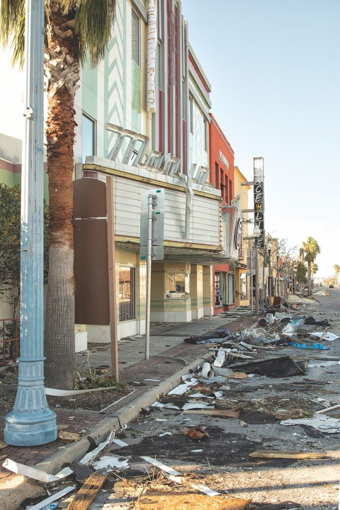 The Martin Theatre In Historic Downtown Panama City After Hurricane Michael The Business Commu Panama City Panama Panama City Beach Florida Panama City Beach