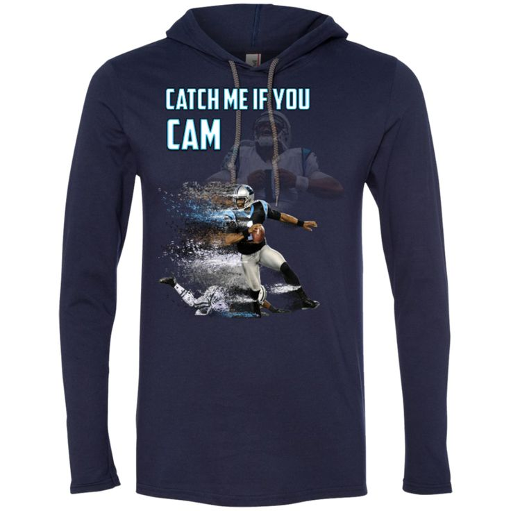 Cam Newton Panthers Custom Designed Fan LS T-Shirt Hoodie