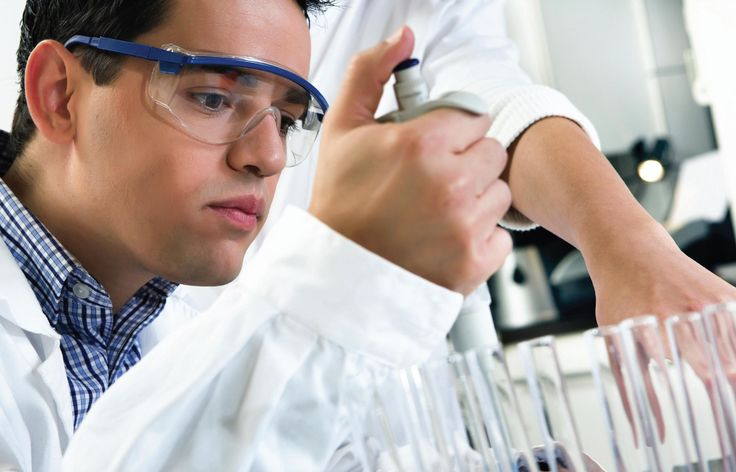 Medical lab technician -  work with microscopes, chemicals, lab equipment and computers to perform laboratory procedures that will identify, diagnose, and treat diseases. They also collect blood specimens, prepare culture media and run tests.