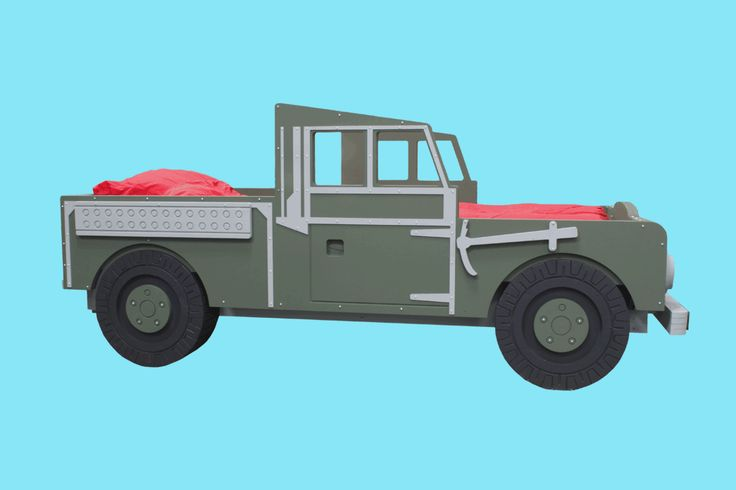 Land Rover Series 1 Military Themed Bed.
