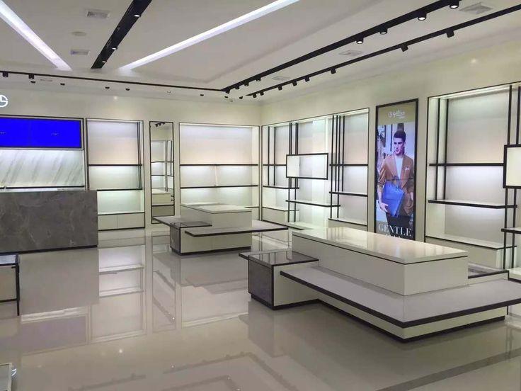 goldlion menswear display merchanding showroom store layout