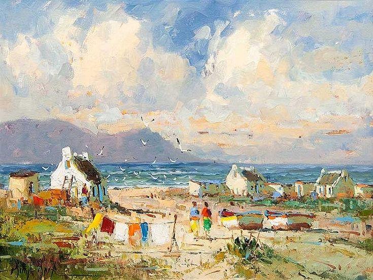 Phillip Britz (SA, born 1966) Arniston Cottages