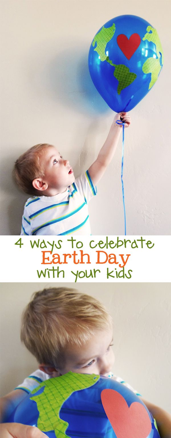 4 ways to celebrate Earth Day with your child