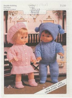 Herbie's Doll Sewing, Knitting & Crochet Pattern Collection: free Doll Knitting Patterns