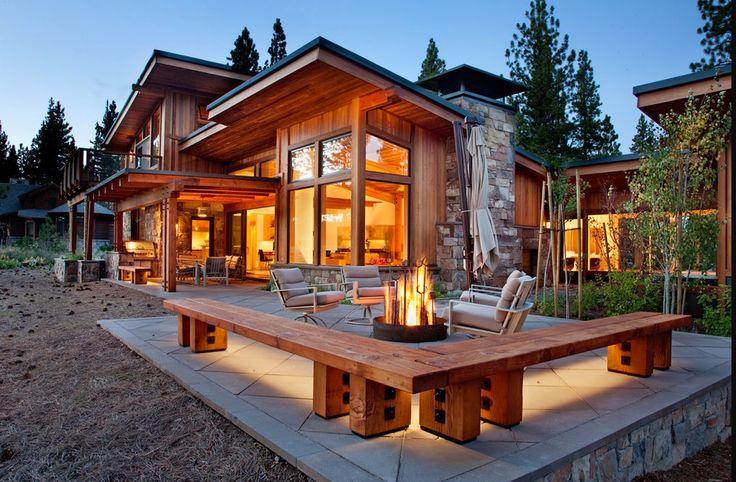 дневник дизайнера: Современный деревянный дом в Сакраменто, Калифорни...