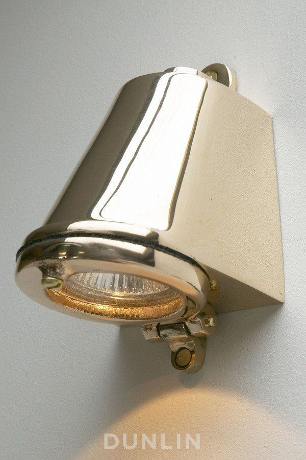 Mast Light LED Polished Bronze