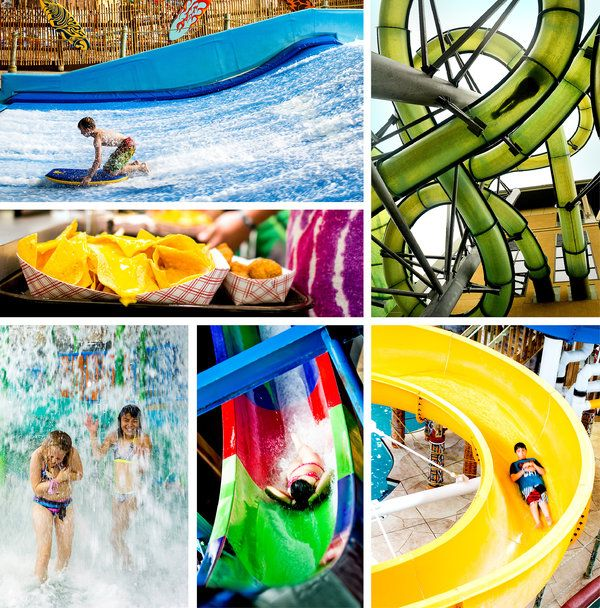 """""""If there is a downside to Kalahari, it is that it — and others like it — make all the more moderate indoor water parks suddenly appear small and simple."""" ~ The New York Times"""
