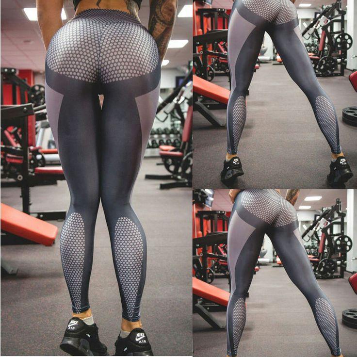 Women Sports Gym Yoga Running Fitness Leggings