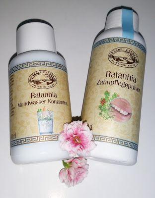 Meine Testecke: Ratanhia Zahnpflege-Produkte von Bärbel Drexel