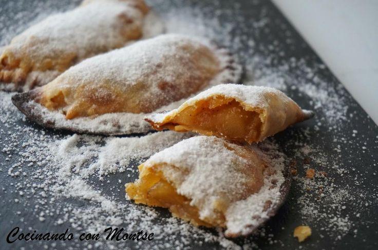 Empanadillas rellenas de manzana. Típicas de Navidad | Cocinar en casa es facilisimo.com