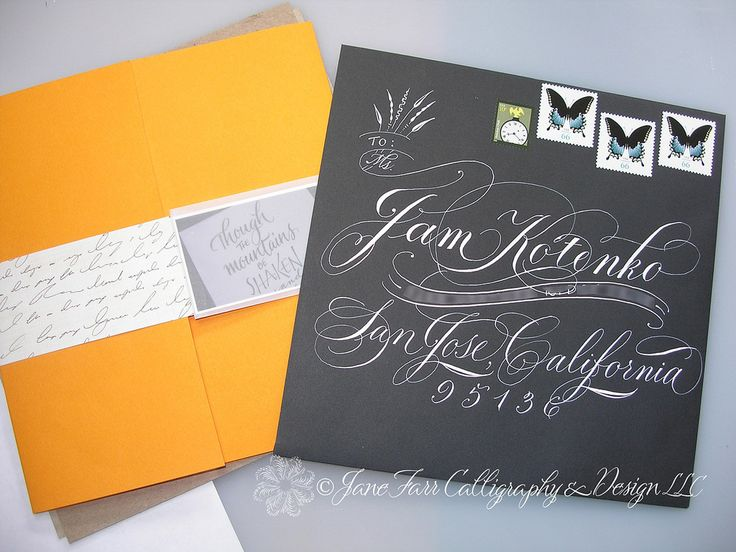 17 Best Images About Hand Addressed On Pinterest