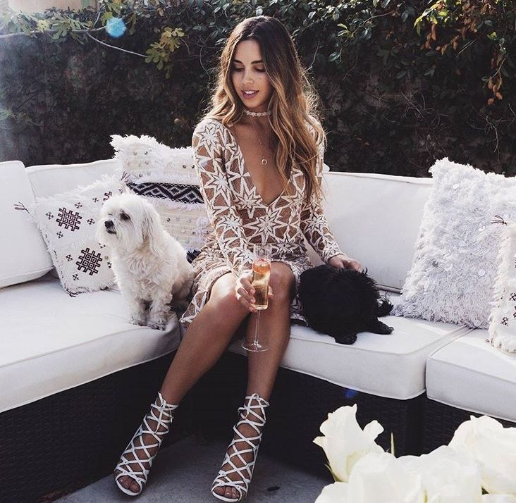 @shopplanetblue featuring our Metz Party Dress