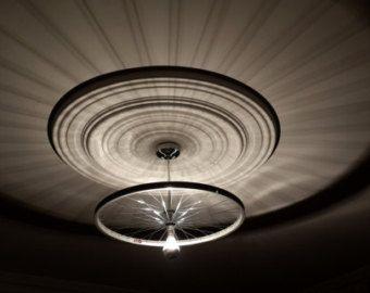 luce a soffitto con ruota di bicicletta - Cerca con Google