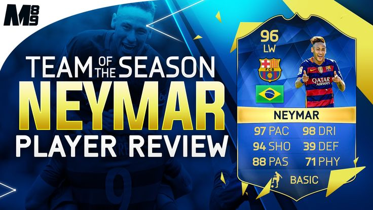 FIFA 16 TOTS NEYMAR REVIEW (96) FIFA 16 Ultimate Team Player Review + In Game Stats - http://tickets.fifanz2015.com/fifa-16-tots-neymar-review-96-fifa-16-ultimate-team-player-review-in-game-stats/ #FIFA16