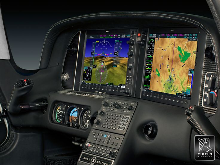 Cirrus SR 22 cockpit with Garmin Perspective System