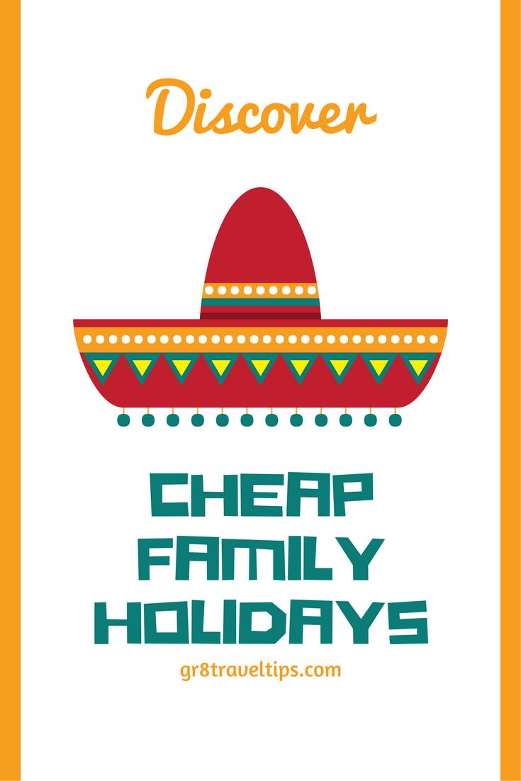 Discover Some Excellent Options for Affordable Cheap Family Holidays ... See more @gr8traveltips