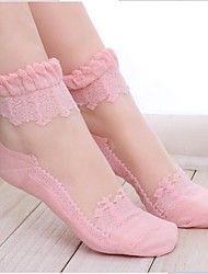 vrouwen kant perspectief sokken