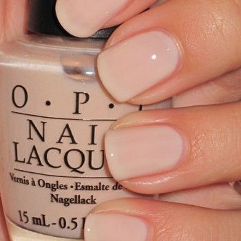 The BEST Nude Polish = OPI Mimosas for Mr and Mrs ( I love color polish, but nude is just so clean natural and easy!)