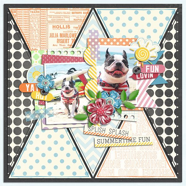 Fun In The Sun  Template : Paper Play 19 by Akizo Designs Kit : After The Rain  Collection by Akizo Designs http://www.thedigichick.com/shop/Akizo-Designs/  Photos : himemimi
