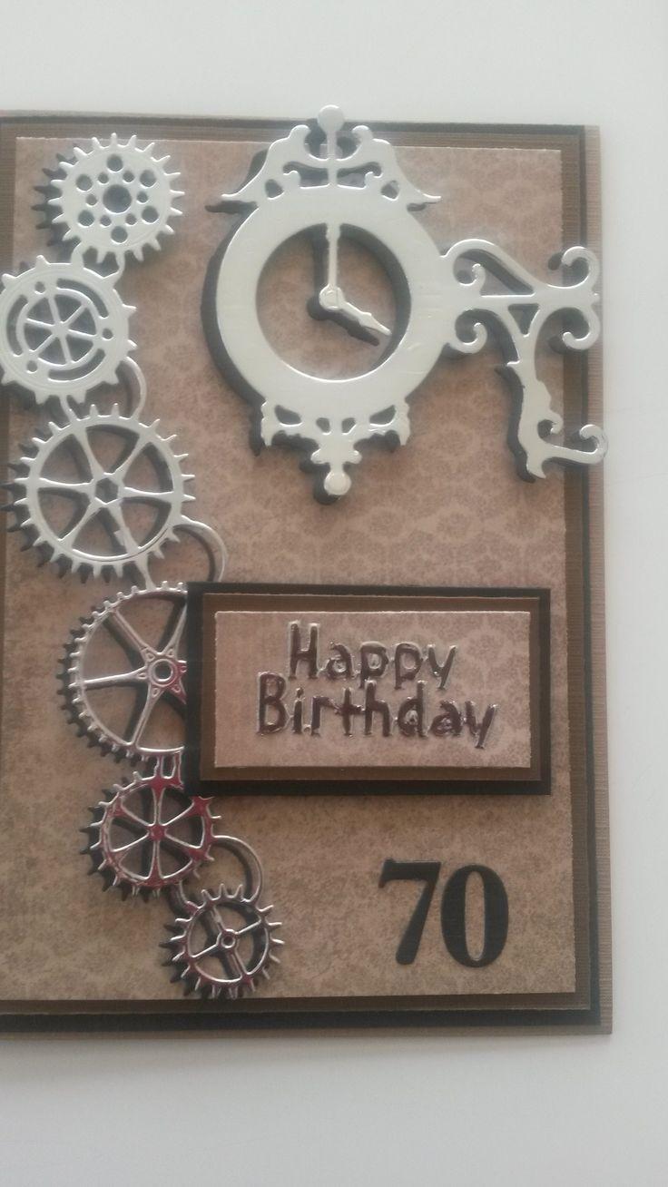 70th Birthday - male