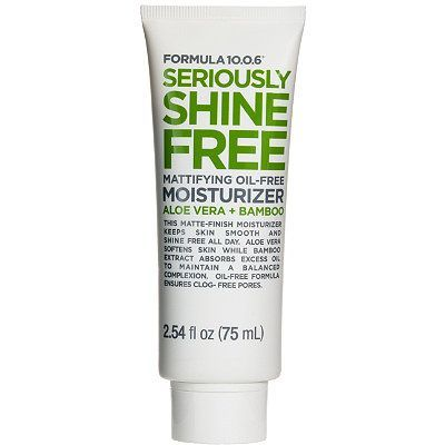 Seriously Shine Free Mattifying Oil Free Moisturizer