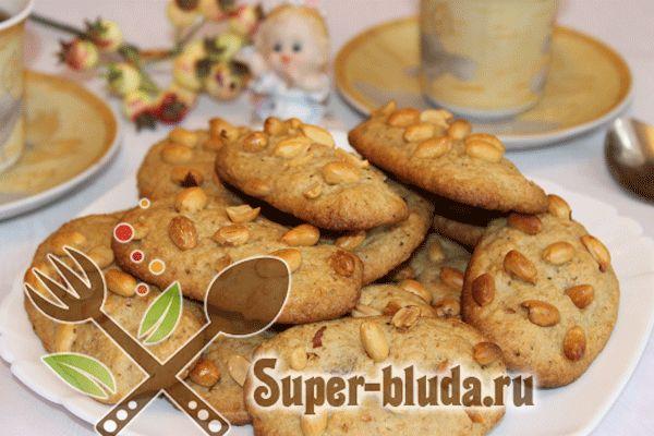 постное печенье с овсяными хлопьями