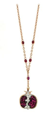 Queen pomegranate pendant by altinbas