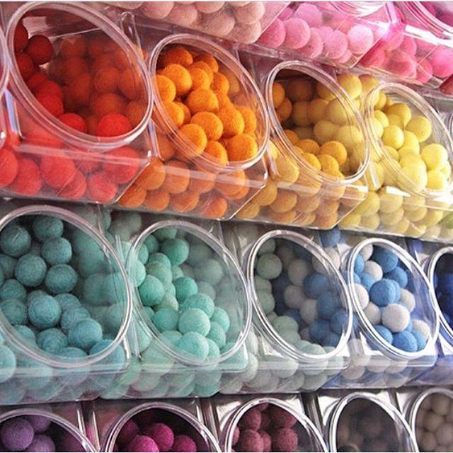 storage of felt balls!!!!