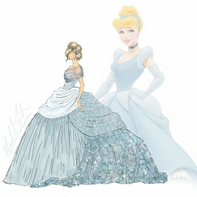 This designer brought Disney princess gowns to life, and they are breathtaking