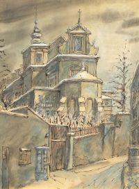 Antoni Uniechowski: Kościół św. Anny