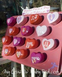 Valentine's Day Countdown Calender