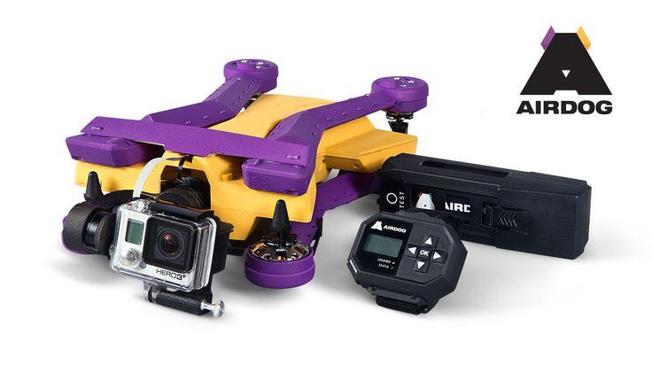 AirDog: el cuadróptero que te persigue para filmarte @alvarodabril