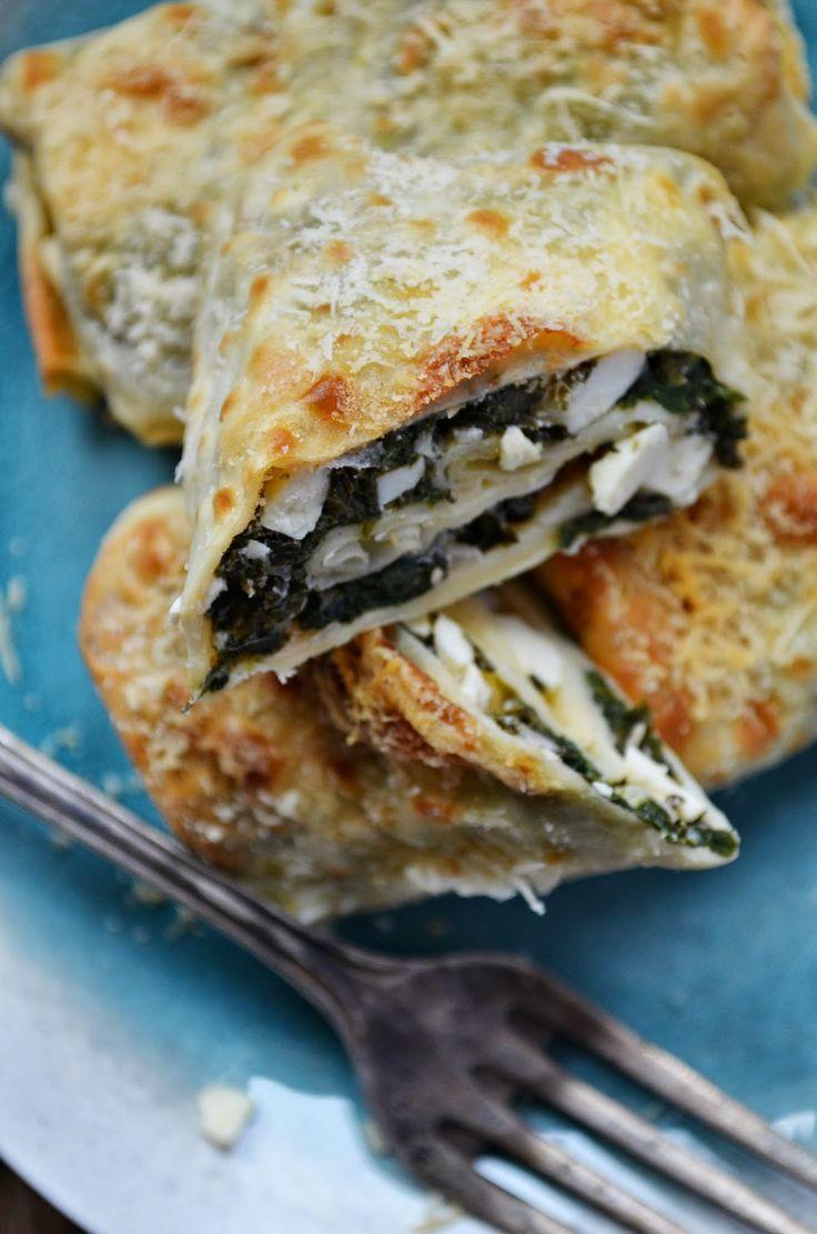 Kuchnia w zieleni: Naleśniki ze szpinakiem i serem feta