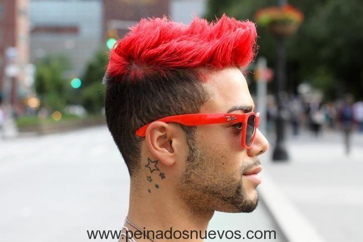 hombres de pelo rojo
