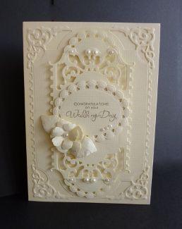 Cream Wedding by sistersandie - Cards and Paper Crafts at Splitcoaststampers
