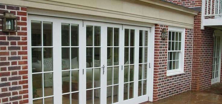 Best 25 bifold french doors ideas on pinterest for Folding french patio doors