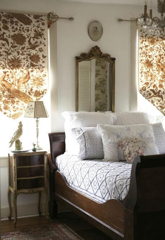 Love the window treatments beautiful bedrooms for Dormitorio de ensueno