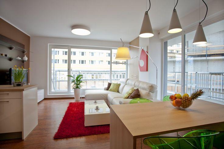 Prague : Byty Malešice  home, house, architecture, interier