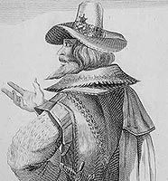 Robert Catesby, leader of the gunpowder plotters.