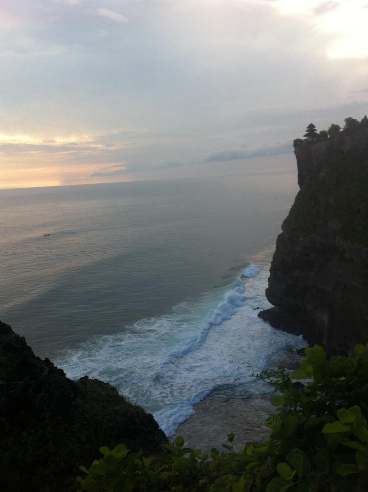 A view from Uluwatu temple.