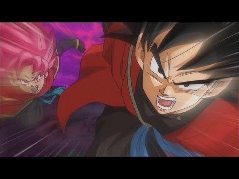 Xeno Goku Time Patrol vs Demigra! Black Goku vs Trunks - Dragon Ball Heroes…
