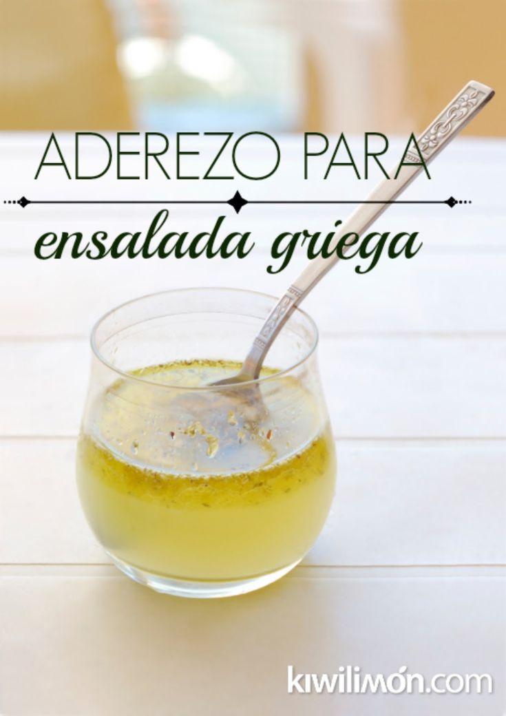 Cómo Hacer un Aderezo para la Ensalada Griega | Aderezo Griego
