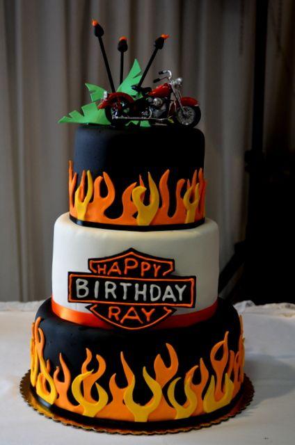 best ideas about Harley Davidson Cake on Pinterest  Harley davidson ...