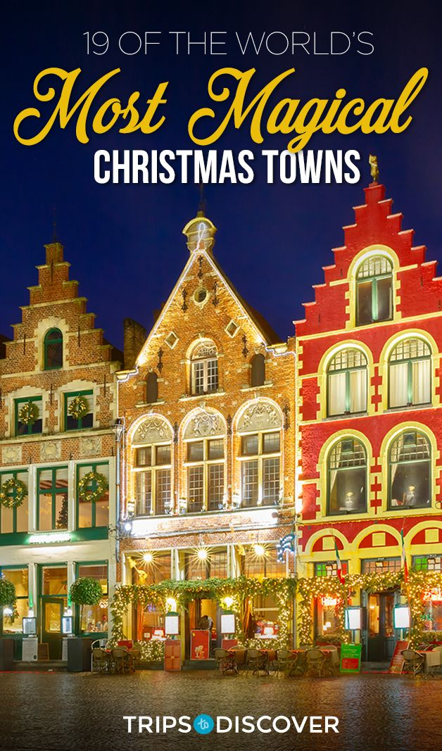 The Worldu0027s Most Magical Christmas Towns